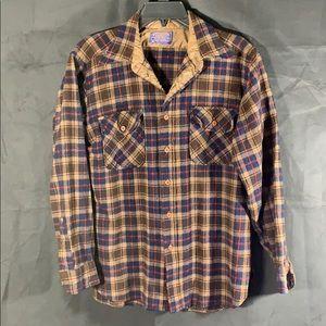 Pendleton wool button down shirt